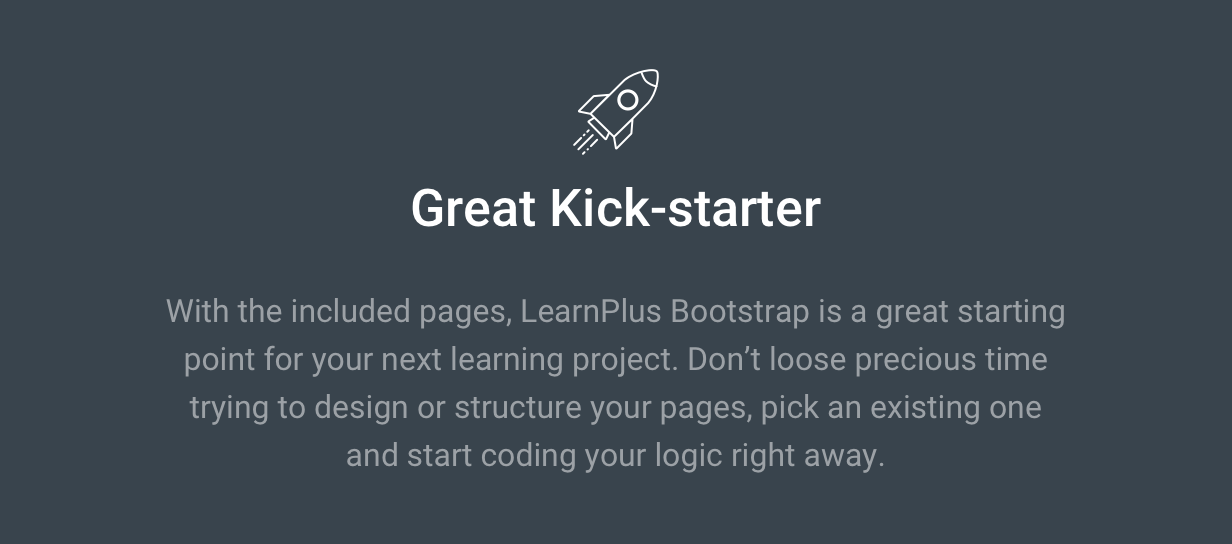 LearnPlus Bootstrap - Education HTML - A great kickstarter template